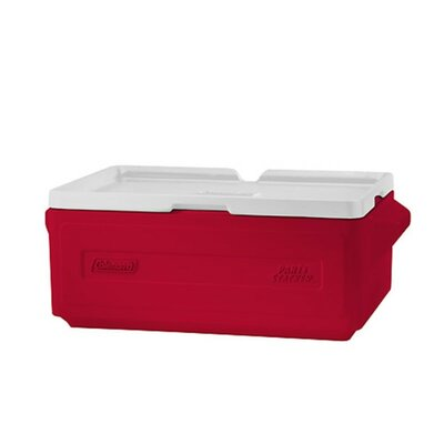 24 Can Party Stacker Cooler Color: Red