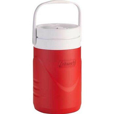 2 Qt. Half Gallon Jug Cooler Color: Red