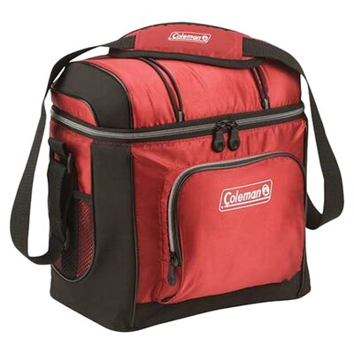 9 Can Picnic Cooler Color: Red