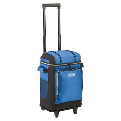 42 Can Rolling Cooler Color: Blue