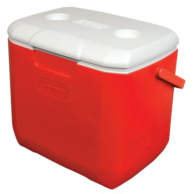 30 Qt. Personal Cooler Color: Red