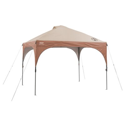 Coleman Instant Shade 10 Ft. W Canopy and LED Lighting System