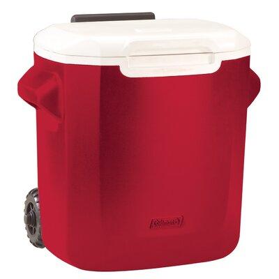 16 Qt. Rolling Cooler Color: Red