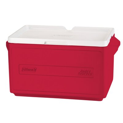 30 Qt. Party Stacker Cooler Color: Red