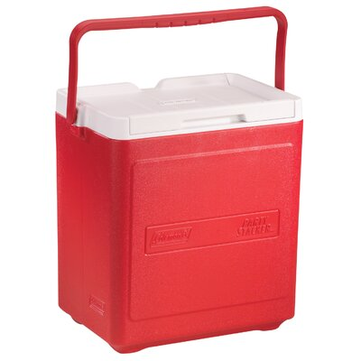 7.5 Qt. Party Stacker Cooler Color: Red