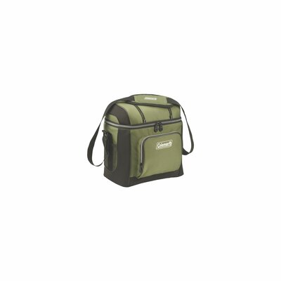 16 Can Picnic Cooler Color: Green