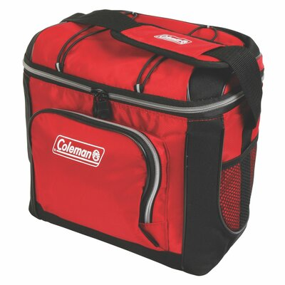 16 Can Picnic Cooler Color: Red