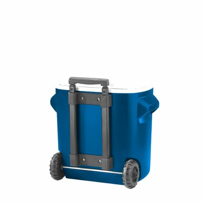 16 Qt. Rolling Cooler Color: Blue