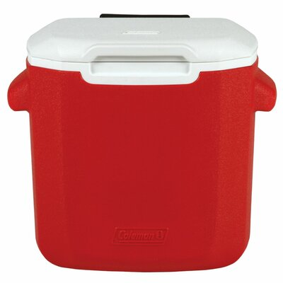 16 Qt. Rolling Picnic Cooler Color: Red