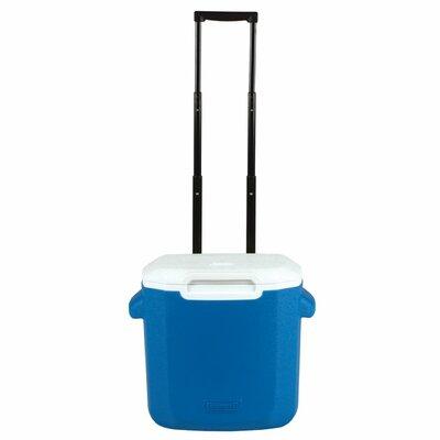 16 Qt. Rolling Picnic Cooler Color: Blue