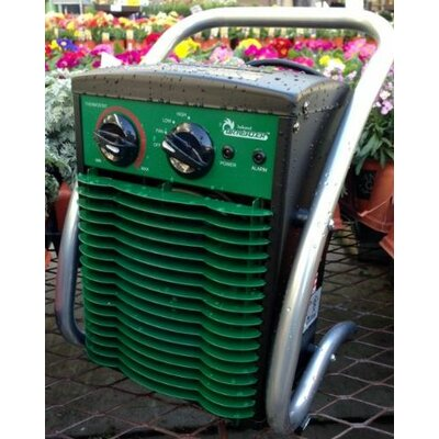 Portable Electric Fan Utility Heater Power: 1500 W / 110 V / 12.5 Amps