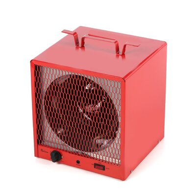 Industrial Heater 19,110 BTU Portable Electric Fan Utility Heater with Adjustable Thermostat