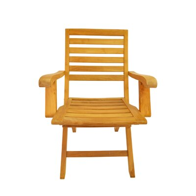 Anderson Teak Andrew Folding Dining Arm Chair