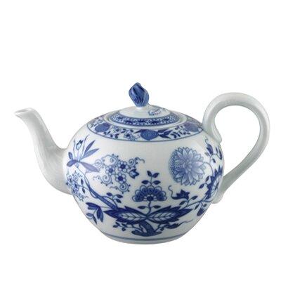 Hutschenreuther Teekanne Blau Zwiebelmuster aus Porzellan