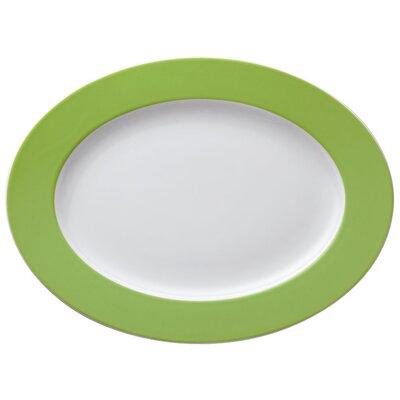 "Thomas Platte oval ""Sunny Day"" in Grün"