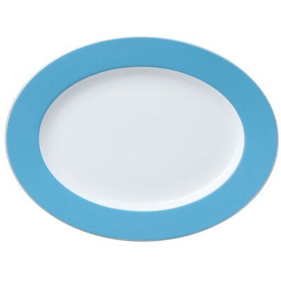 "Thomas Platte oval ""Sunny Day"" in Blau"