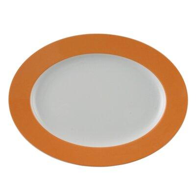 "Thomas Platte oval ""Sunny Day"" in Orange"