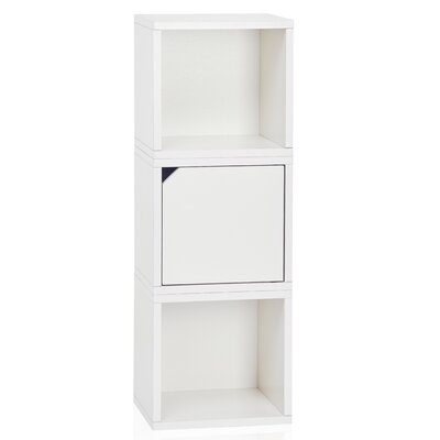 Connect System Stackable Cube Unit Bookcase Finish: Aspen White