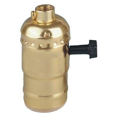 Morris Products 3-Way Turn Knob Lamp Holder