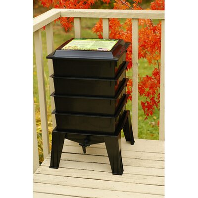 Worm Factory Worm Bins Color: Black