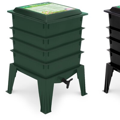 Worm Factory Worm Bins Color: Green