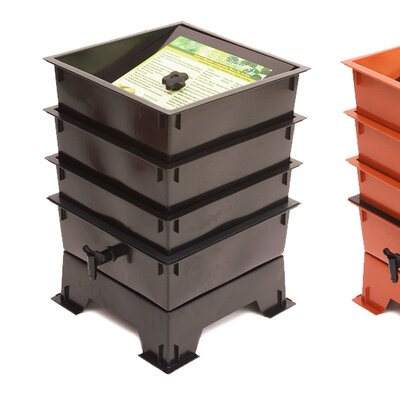 Worm Factory Worm Bin Color: Black