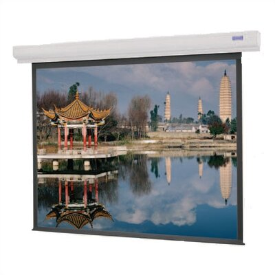 "Designer Contour Electrol Matte White 72"" Diagonal Electric Projection Screen"