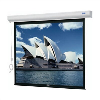 Da-Lite Designer Cinema Electrol Matte White Electric Projection Screen