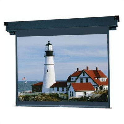 "Boardroom Electrol Matte White Electric Projection Screen Viewing Area: 65"" H x 116"" W"