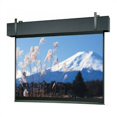 "Professional Electrol Matte White Electric Projection Screen Viewing Area: 200"" diagonal"