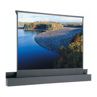"Ascender Electrol Matte White Electric Projection Screen Viewing Area: 100"" diagonal"