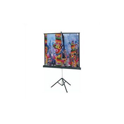 "Versatol Matte White Portable Projection Screen Viewing Area: 72"" diagonal"