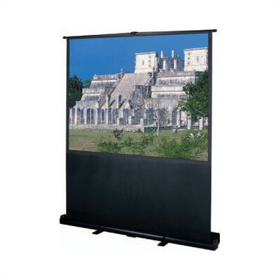 "Deluxe Insta-Theater Portable Projection Screen Viewing Area: 90"" diagonal"