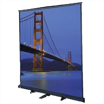 "Floor Model C Matte White 180"" Diagonal Manual Projection Screen"