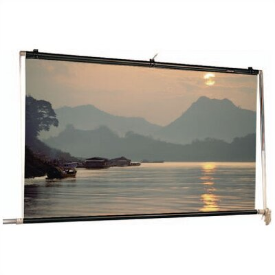 Scenic Roller Matte White Manual Projection Screen Viewing Area: 24' H x 24' W