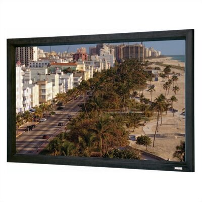 "Cinema Contour Matte White Fixed Frame Projection Screen Viewing Area: 58"" H x 104"" W"