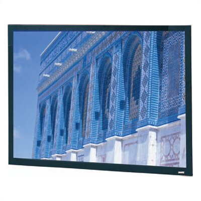 "Da-Snap Black Fixed Frame Projection Screen Viewing Area: 60"" H x 96"" W"