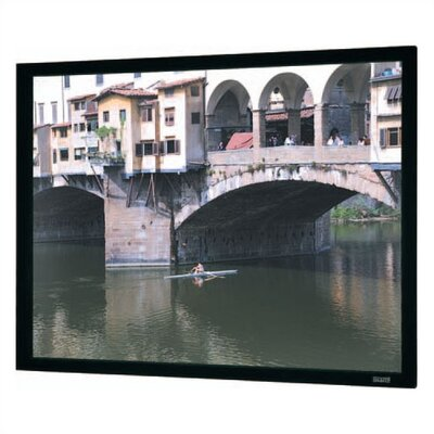 "Imager Black Fixed Frame Projection Screen Viewing Area: 45"" H x 106"" W"