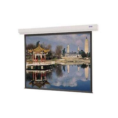 "Designer Contour Electrol Matte White Electric Projection Screen Viewing Area: 60"" H x 60"" W"