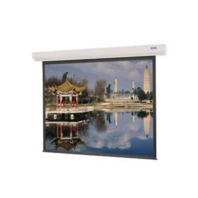 """Designer Contour Electrol Matte White Electric Projection Screen Viewing Area: 84"""" H x 84"""" W"""
