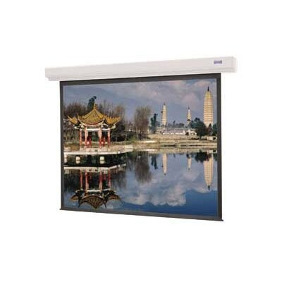 "Designer Contour Electrol Matte White Electric Projection Screen Viewing Area: 43"" H x 57"" W"