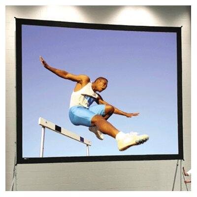 """Fast Fold Deluxe 184"""" Diagonal Portable Projection Screen"""