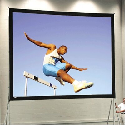 """Fast Fold Deluxe 265"""" Portable Projection Screen"""