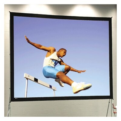 """Fast Fold Deluxe 228"""" Diagonal Portable Projection Screen"""