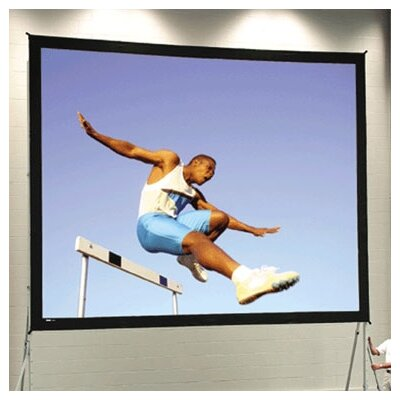 "Fast Fold Deluxe 102"" H x 172"" W Portable Projection Screen"
