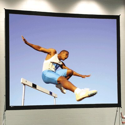 "Fast Fold Deluxe 108"" H x 192"" W Portable Projection Screen"