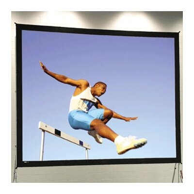 """Fast Fold Deluxe Portable Projection Screen Viewing Area: 7'6"""" H x 13'4"""" W"""