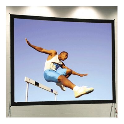 """Portable Projection Screen Viewing Area: 10'6"""" H x 14' W"""
