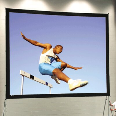 "Fast Fold Deluxe 120"" H x 216"" W Portable Projection Screen"
