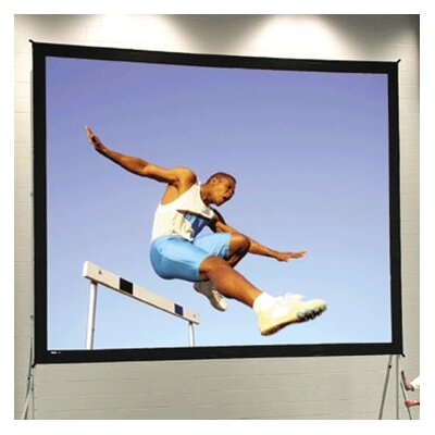 "Fast Fold Deluxe 210"" Diagonal Portable Projection Screen"